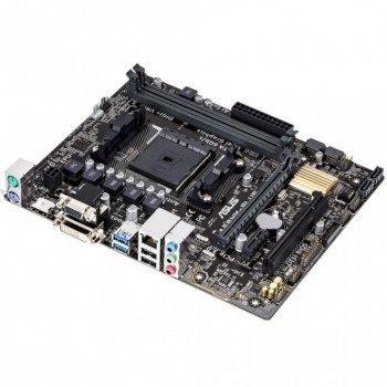 Материнська плата ASUS A68HM-PLUS (FM2+, AMD A68H, 2xDDR3-2400 МГц, 1xPCI-Ex16, аудіо 7.1, Micro-ATX)