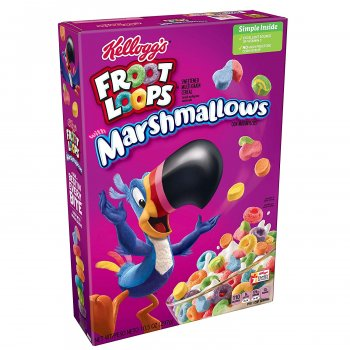 Сухой завтрак Froot Loops with marshmallows 297 г