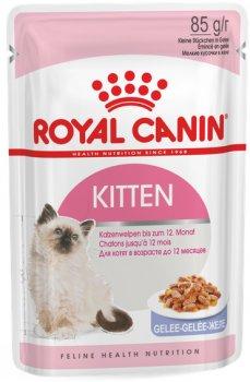 Влажный корм Royal Canin Kitten Instinctive в желе для котят до 12 месяцев 85 г