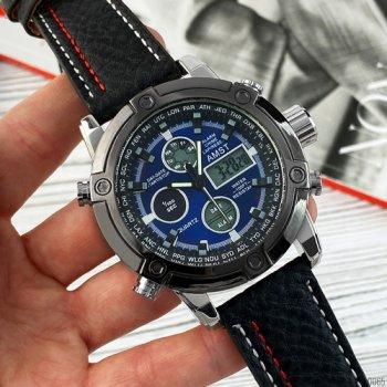 Часы наручные AMST 3022P Black-Silver-Blue