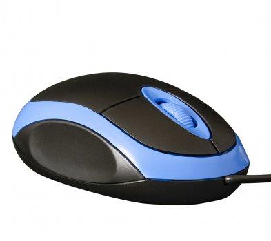 Мышь Frime FM-001BB Black/Blue USB