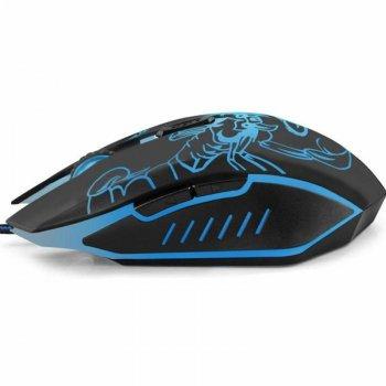 Миша Esperanza EGM203B Scorpio Black/Blue USB