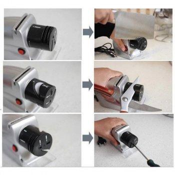 Электрическая точилка для ножей и ножниц Empire от сети 220V 20 Вт
