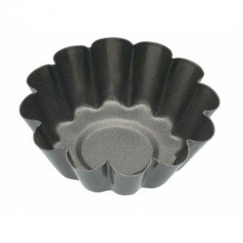 Форми FOR KC NS для випічки міні Кошики рифлені з антипригарним покриттям 6см 4 одиниці (109864)