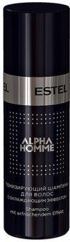 Тонізувальний шампунь з охолоджувальним ефектом Estel Professional Alpha Homme для волосся і тіла 60 мл (4606453034089)
