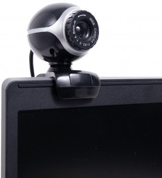 Berger WebCam Gaming 480p Black/Silver (BW GAMING 480P)
