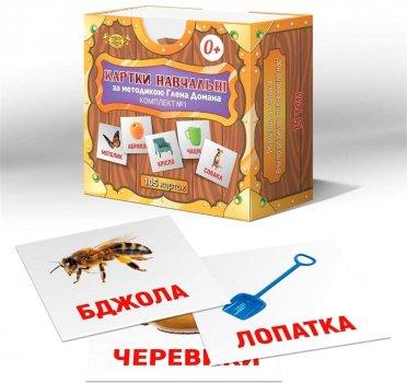 Настільна гра Майстер Картки за методикою Глена Домана (українські) (МКД0001)