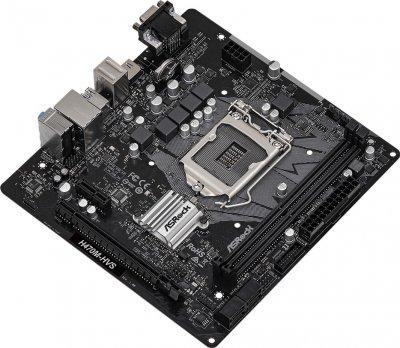 Материнська плата ASRock H470M-HVS (s1200, Intel H470, PCI-Ex16)