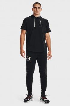 Мужские черные спортивные брюки UA RIVAL TERRY JOGGER Under Armour 1361642-001