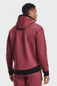 Чоловіче рожеве худі UA Recover Fleece Hoodie-RED Under Armour 1357071-652
