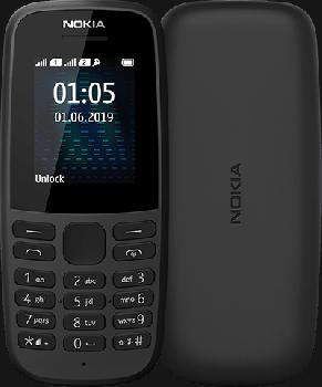Мобільний телефон Nokia 105 TA-1174 Dual Sim 2019 Black