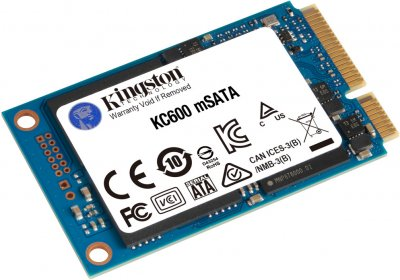 Kingston SSD KC600 512GB mSATA SATAIII 3D NAND TLC (SKC600MS/512G)