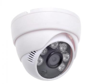 Купольная AHD камера видеонаблюдения H.VIEW 720P (3.6 мм) (HV-D100-06)