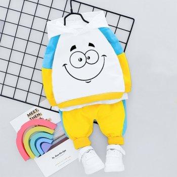 Комплект-двійка Pingvik 8700 колір блакитний + білий + жовтий
