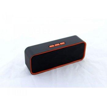 Портативная Bluetooth колонка SPS K31 5W USB MicroSD FM Радио Черная 44965