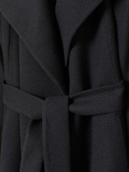 Пальто H&M 97162185 Черное