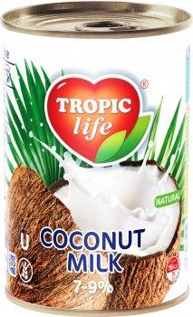 Кокосовое молоко Tropic Life 7-9% 425 мл (5060235659270)