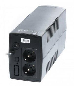 Блок безперебійного живлення EnerGenie EG-UPS-B850 850VA, Line Int., AVR, 2xSchuko