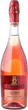 Вино игристое Chiarli Lambrusco dell 'Emilia Rosato Dry розовое сухое 0.75 л 10% (8003325608687)