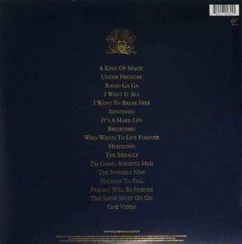 Виниловая пластинка Queen - Greatest Hits 2 (2LP, 180g)