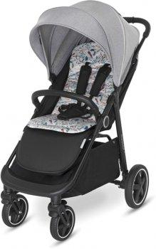 Прогулянкова коляска Baby Design Coco 2021 07 Gray (204302)