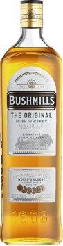 Виски Bushmills Original 6 лет выдержки 1 л 40% (5010103917063_5055966801081)