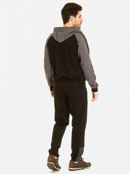 Спортивний костюм Demma 919 Чорний з фуме