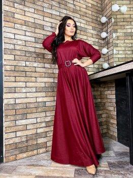Платье DNKA д41373 Бордовое