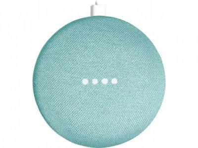 Голосовий асистент Google Home Mini, колір Бірюзовий