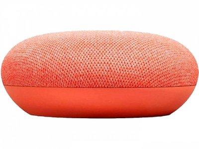 Голосовий асистент Google Home Mini, колір Кораловий