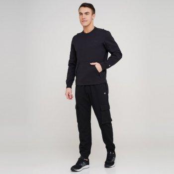Чоловічі спортивні штани Champion Rib Cuff Pants Чорний (cha216017-NBK)