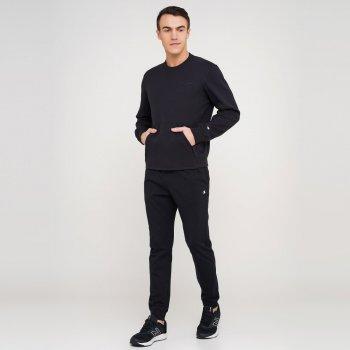 Чоловічі спортивні штани Champion Rib Cuff Pants Чорний (cha212148-NBK)