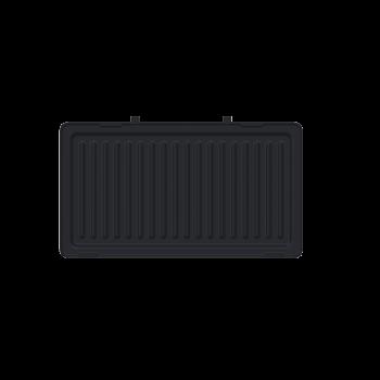 Бутербродница LIBERTON LSM-8021 чорна (2 в1, гриль, бельгійські вафлі., 800Вт)