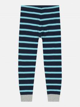 Пижамные штаны H&M 402-7304540 Темно-синие в полоску
