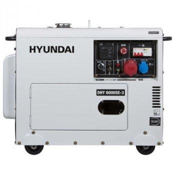 Дизельный генератор Hyundai Professional DHY 6000SE-3