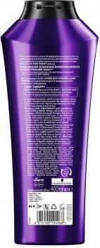 Укрепляющий шампунь GLISS Fiber Therapy для истощенных волос после окрашивания и стайлинга 400 мл (4015100194968)