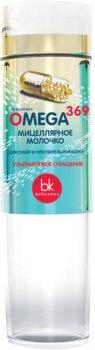 Мицеллярная молочко для обличчя Белкосмекс Omega 369 для сухої і чутливої шкіри 200 г (4810090009946)