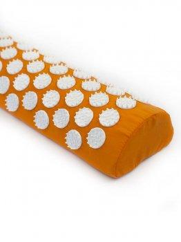 Напіввалик масажно-акупунктурний Igora ТМ Ігора RELAX 38 × 12 × 6 см помаранчевий (PL-382)