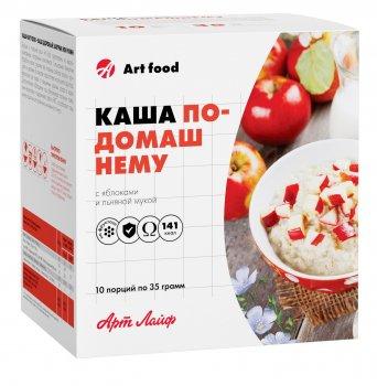 Каша ArtLife По-домашнему с яблоками и льняной мукой 10 пакетиков AL747