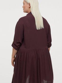 Платье H&M 8654302dm Бордовое