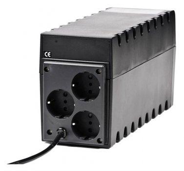ДБЖ Powercom RPT-600A, 3 x євро (00210187)