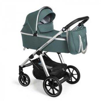 Коляска Baby Design 2 в 1 Bueno 205 Turqyoise (без вишивки) (203794)