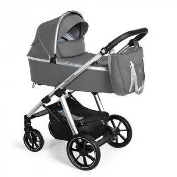 Коляска Baby Design 2 в 1 Bueno 207 Gray (без вишивки) (203800)