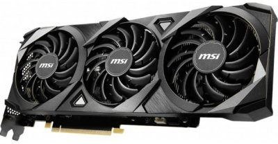 Відеокарта MSI GeForce RTX 3070 VENTUS 3X OC 8GB GDDR6 256-bit, HDMI, 3 x DisplayPort