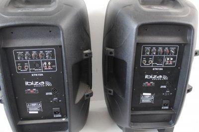 Активна акустична система IBIZA XTK15A