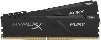 Оперативная память HyperX DDR4-3200 32768MB PC4-25600 (Kit of 2x16384) Fury Black (HX432C16FB3K2/32)