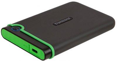 """Жесткий диск Transcend StoreJet 25M3C 2TB TS2TSJ25M3C 2.5"""" USB 3.1 Type-C External"""