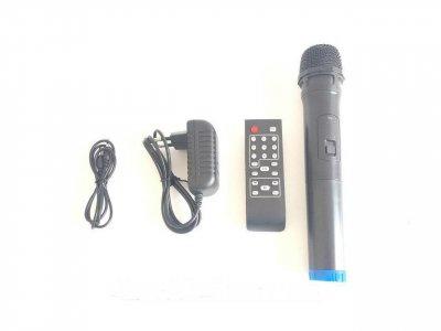 Колонка UF-1018 /120W USB/Bluetooth/FM портативна акустика на акумуляторі з мікрофоном