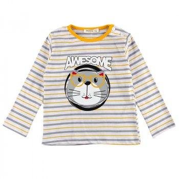 Реглан для мальчика BREEZE 15340 серый, желтый (482763)