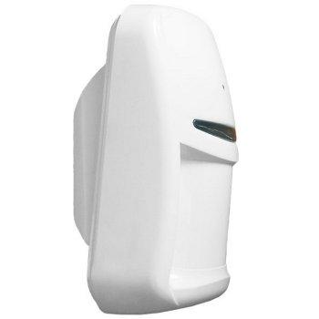 Бездротовий датчик руху і розбиття Maks PRO PIR Combi VB white з лінзою «штора»